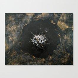 "Original Painting Art ""Black poppy"" Canvas Print"