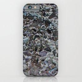 Broken glas iPhone Case