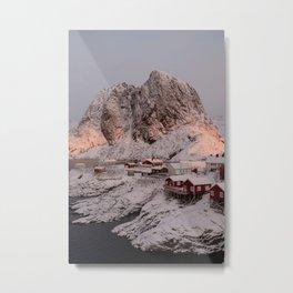 Sunrise Over Hamnøy, Norway Metal Print