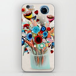 Rupydetequila Vase with flowers - Still Life Floral 2018 iPhone Skin