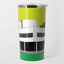 Villa Savoye Le Corbusier Modern Architecture Travel Mug