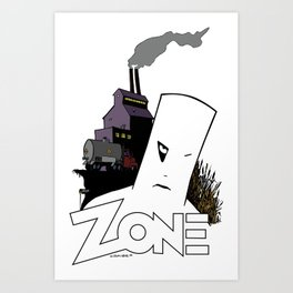 Toxic Delivery Art Print
