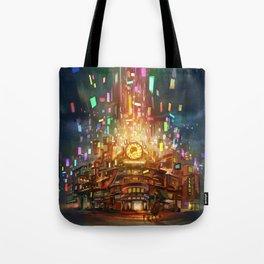 Cafe Big Bun Tote Bag