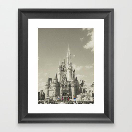 Walt Disney World Framed Art Print
