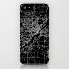 Toledo map ohio iPhone Case