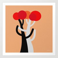 discount Art Prints featuring Let's dance! by Roxana Jordan