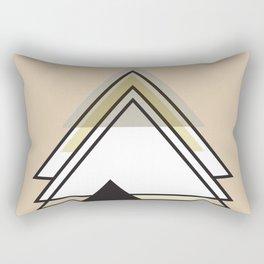 Minimalist Triangle Series 009 Rectangular Pillow
