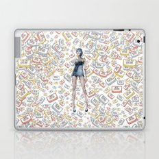 London Club Scene | Punk Rock Girl  Laptop & iPad Skin