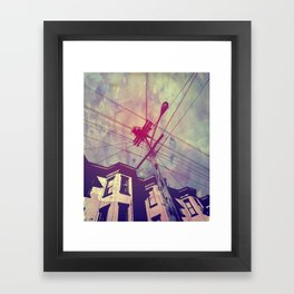 Wires Framed Art Print