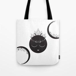 The Crystal Goddess Tote Bag