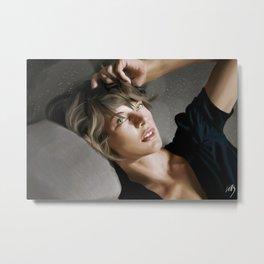 Milla Jovovich Metal Print