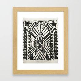 The Cosmic Doorway Framed Art Print