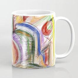 Strokes shapes and colors Coffee Mug