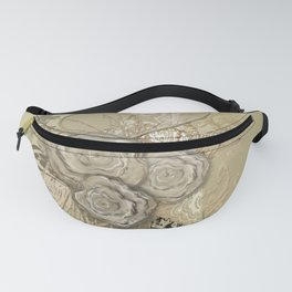50 Shades of lace Gold Gold Fanny Pack