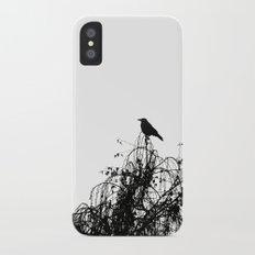 Black Bird iPhone X Slim Case