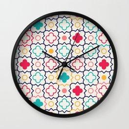 Cute Eastern Pattern Wall Clock