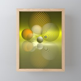 games with geometry -41- Framed Mini Art Print