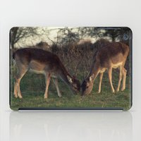 wildlife iPad Cases featuring Winter Wildlife by Michael S.