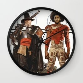 Thanksgiving In Modern America With Trump And Kapernick Wall Clock