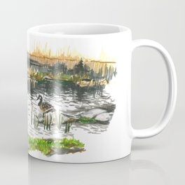 Facing water Coffee Mug