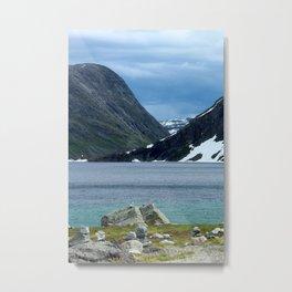On the Trollstigen Road Metal Print