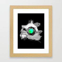 Skull Moonfish Jawn Framed Art Print