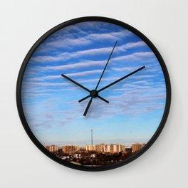 Blue Sky Toronto Wall Clock