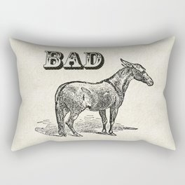 Bad Ass Rectangular Pillow