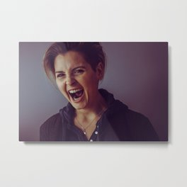 This is My Rage Face Metal Print