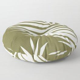Palm Frond Floor Pillow