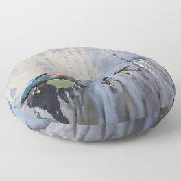 Plaze de las Cortes Floor Pillow