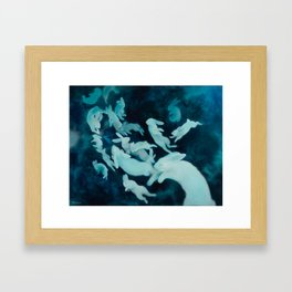 MoonTrail Ghosts Framed Art Print