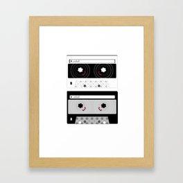 A: Inhale // B: Exhale Framed Art Print