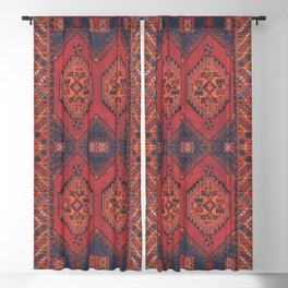 N193 - Berber Oriental Traditional Moroccan Style  Blackout Curtain