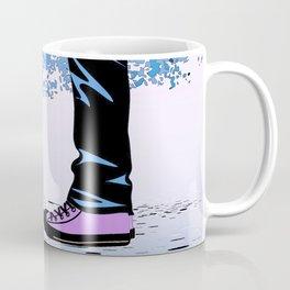 Couple Love massage texture Coffee Mug