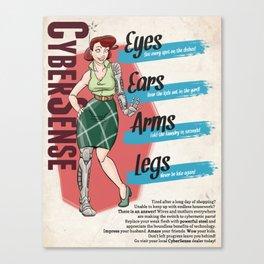 CyberSense Canvas Print