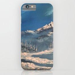 Ice Fields - winter day iPhone Case