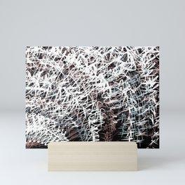 echo chamber Mini Art Print