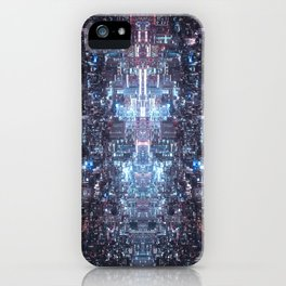 The elaborate simulation we live in iPhone Case