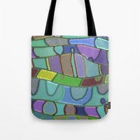 angels Tote Bags featuring Angels by Betty Mackey