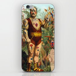 the strongest man of the world iPhone Skin