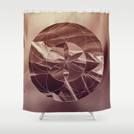 Secret in the canyon Shower Curtain