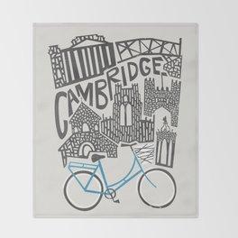 Cambridge Cityscape Throw Blanket