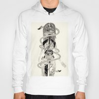 biology Hoodies featuring Soul Biology  by Ursula Hart
