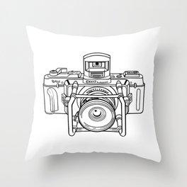 Fuji GX Camera Throw Pillow
