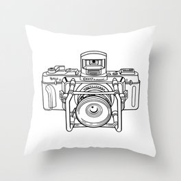 Fuji GX Camera Throw Pillow