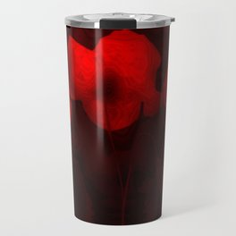 Poppies aglow Travel Mug