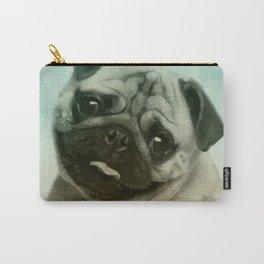 Cute Pug  Digital Art Carry-All Pouch