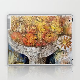 Materic composition of yellows and oranges Laptop & iPad Skin
