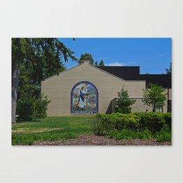 Lourdes University- Jesus Feeding the Crowd II Canvas Print
